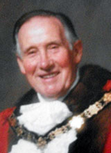 Picture of Cllr. C.N. Charles. Mayor of Llanelli 1989 - 90