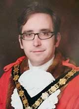Picture of Cllr. D.Ll. Darkin, RIBA. Mayor of Llanelli 2018 - 19