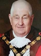 Picture of Cllr. J.E. Jones, J.P.. Mayor of Llanelli 2019 - 20