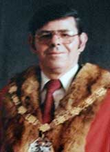 Picture of Cllr. K. Davies. Mayor of Llanelli 1980 - 81