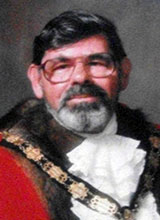 Picture of Cllr. K. Davies. Mayor of Llanelli 1988 - 89