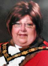 Picture of Cllr. Mrs. L.J. Stedman. Mayor of Llanelli 2011 - 12