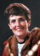 Picture of Cllr. Mrs. M.E. Prothero. Mayor of Llanelli 1984 - 85