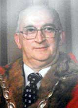 Picture of Cllr. D.J. Harries. Mayor of Llanelli 1978 - 79